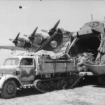 Me 323 Gigant and Opel Maultier Italy