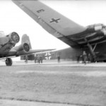 Ju 52 and Me 323 somewhere in Germany