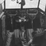 The cockpit interior of a Me 323 Gigant