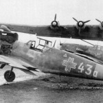 Me 323E-2/WT and Romanian Bf109G coded White 43a