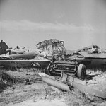 me323 German aircraft wrecks1 El Aouiana May1943