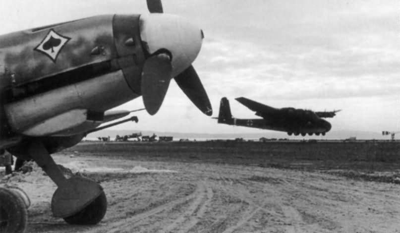 Messerschmitt Me323 and Bf109 from JG 53