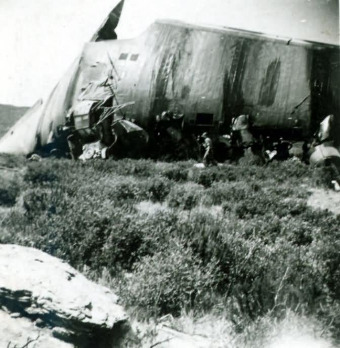 Destroyed Messerschmitt Me323