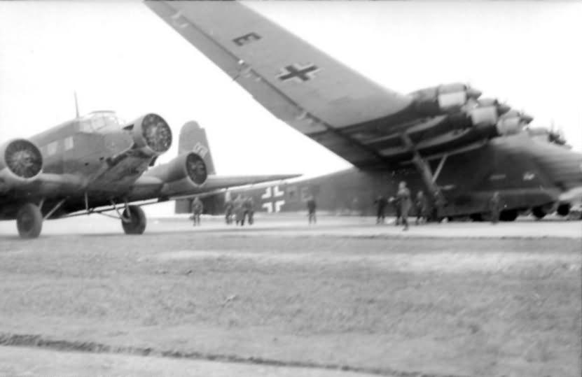 me323 668 7197 11 Reichsgebiet Flugzeuge Ju 53 und Me 323 Gigant