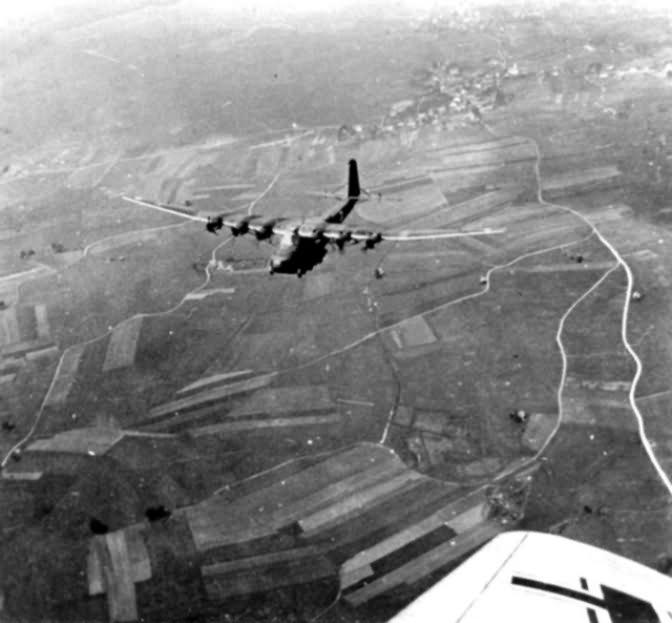 Messerschmitt Me323 in flight 8
