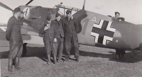 Messerschmitt Bf109 2 staffel JG52