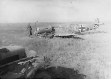 Bf109 Jabo – ground attack variant