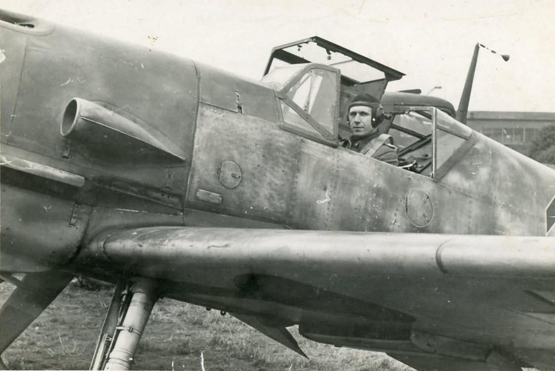 Bf109 open canopy