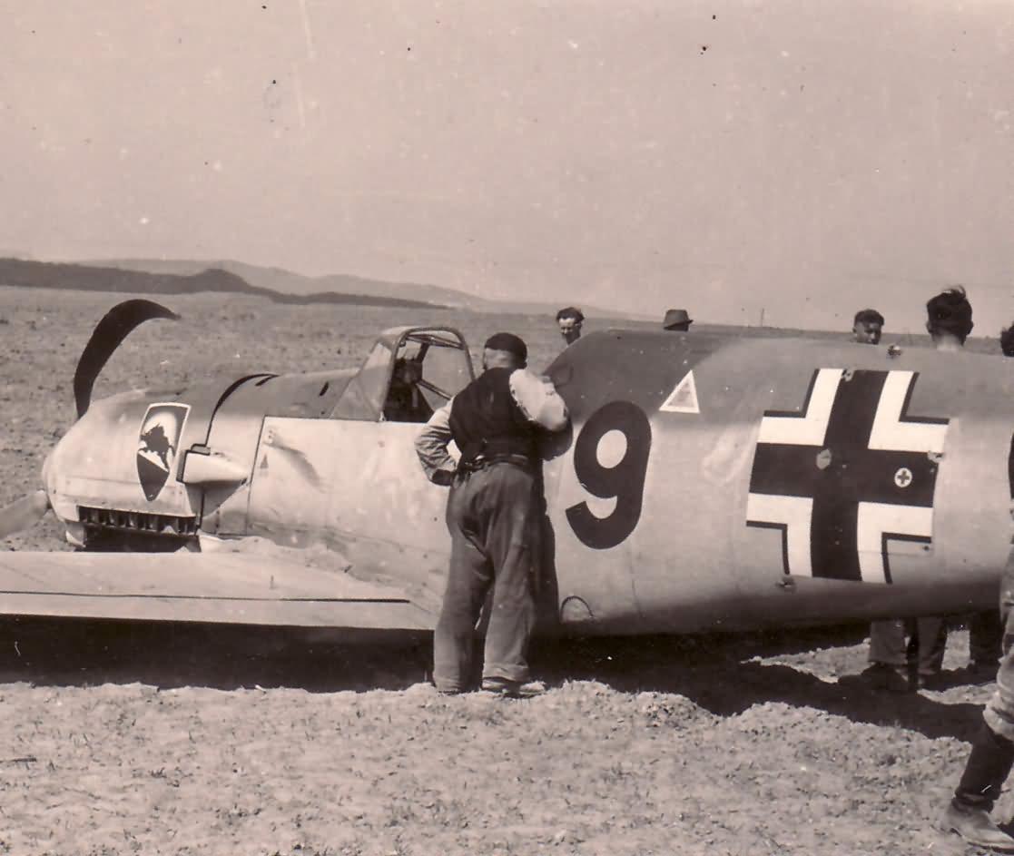 Me109 I gruppe JG52
