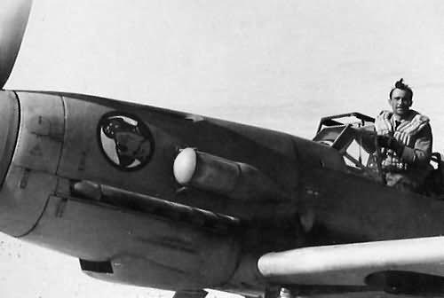 Me 109 F of the JG2 7, North Africa