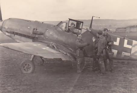Me109 e JG 107 wappen nancy essay1943