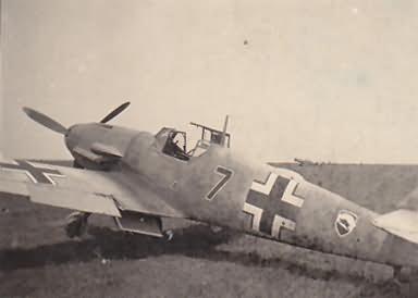 Me109 f 2JG 52 black 7 olli