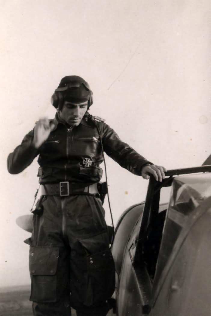 Me109 jagdflieger hptm. kommandeur rk