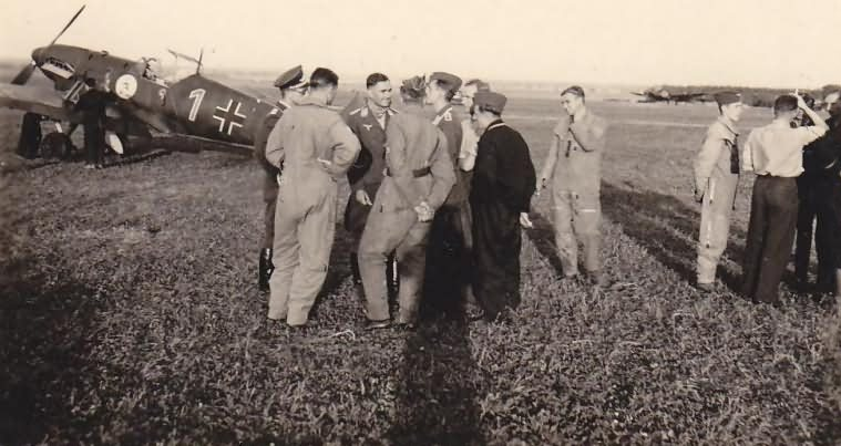 "Me109D of the JG 2 ""Richthofen"" on the ground"