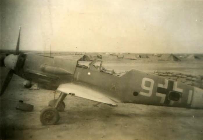 Bf109 trop Africa DAK