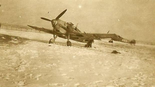 Me109 winter 2