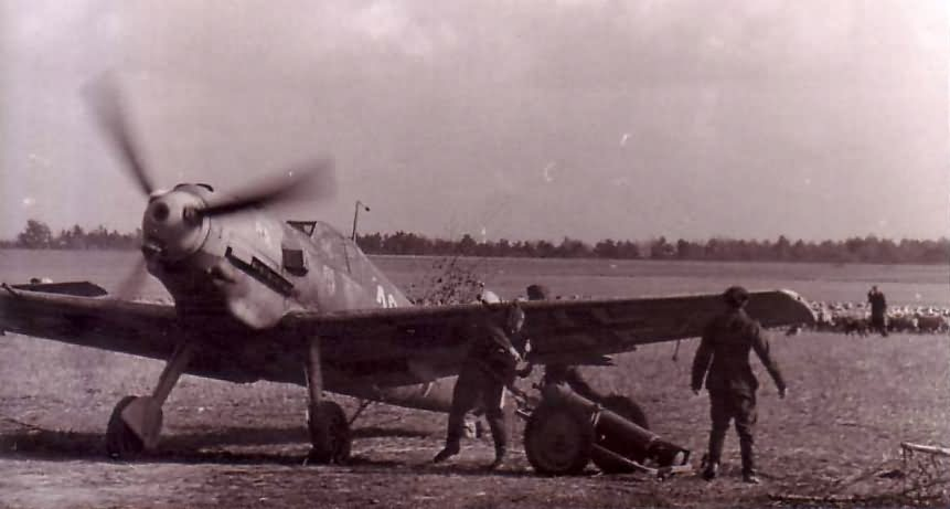 Me 109 JG2 4