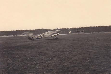 Me 109D CF+SE of the Schule/FAR 13, Pilsen 1941