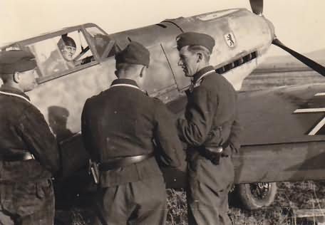Me 109 e 5 JG 27 uffz hans niederrhofer bitolj april 1941 2