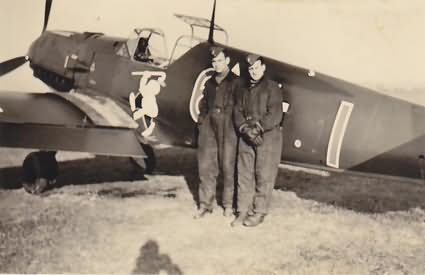 "Me109E from 8/JG 26 ""Adamson Staffel"" in the Autumn of 1939"