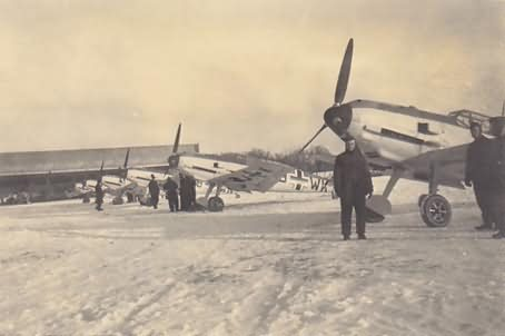 Me 109 E of the 5/JG 27 Magdeburg Ost Winter 1940