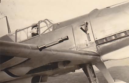 Me 109E from 8/JG 26 November 1939