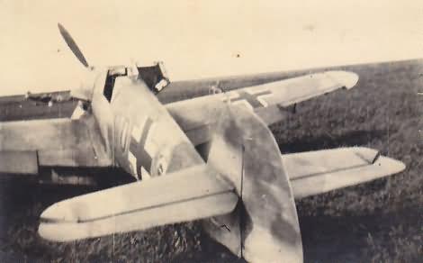 Me 109 f black 10 2.JG 52 von lt. ring 1941