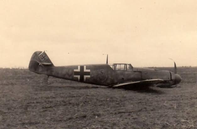 Messerschmitt Bf109F 3 fighter