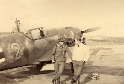 Messerschmitt Me109 D from 1/JGr Ost Biarritz 1943