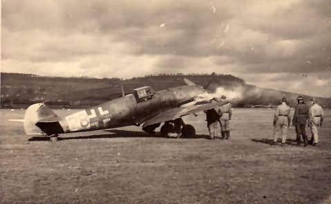 Messerschmitt Me109F number 28 from 1/JGr Ost Biarritz 1944
