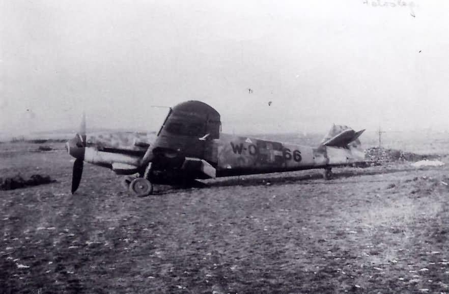 Messerschmitt Me109 W-066 Hungary
