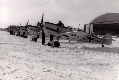 Messerschmitt Me 109 E 6/JG 27 Magdeburg Ost January 1940