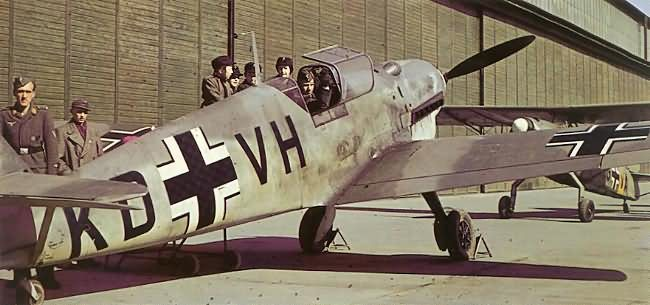 messerschmitt bf 109 coloring pages - photo#15