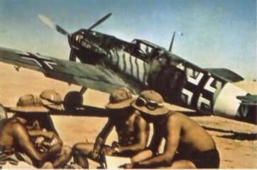 Messerschmitt bf 109 color 2
