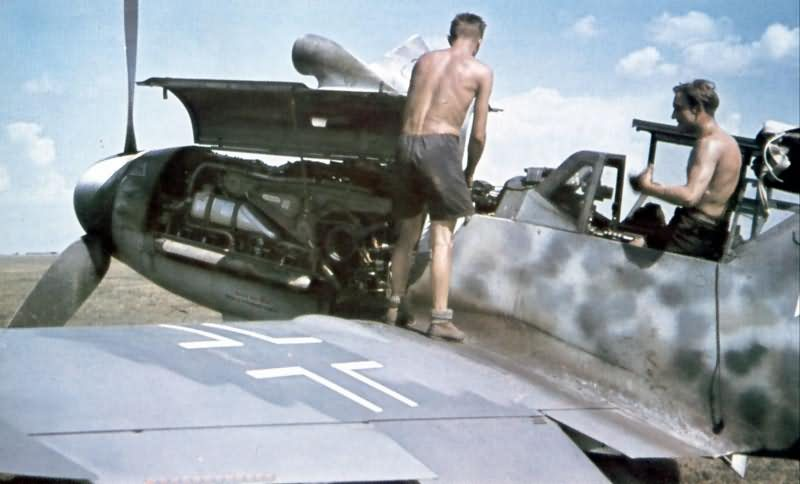 Messerschmitt bf 109 color 25