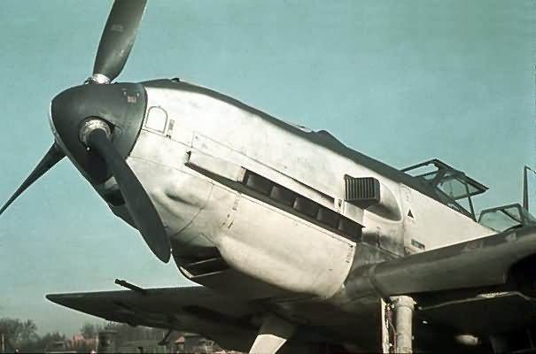 Messerschmitt bf 109 color 27a