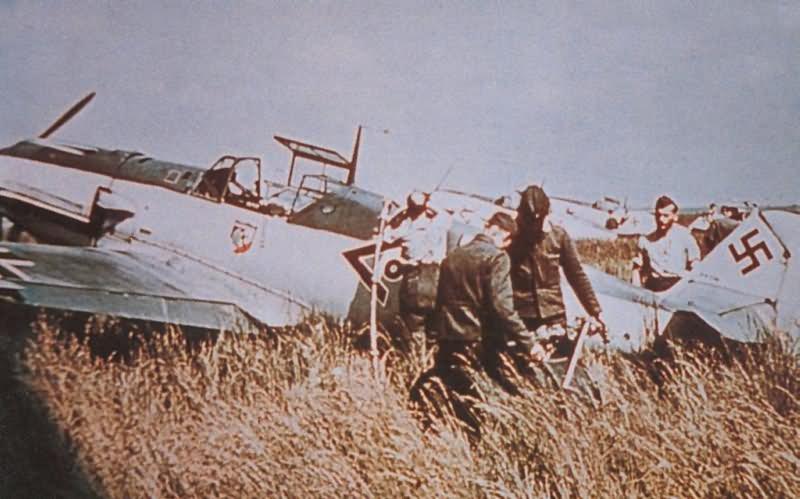 Messerschmitt Bf 109 color 28