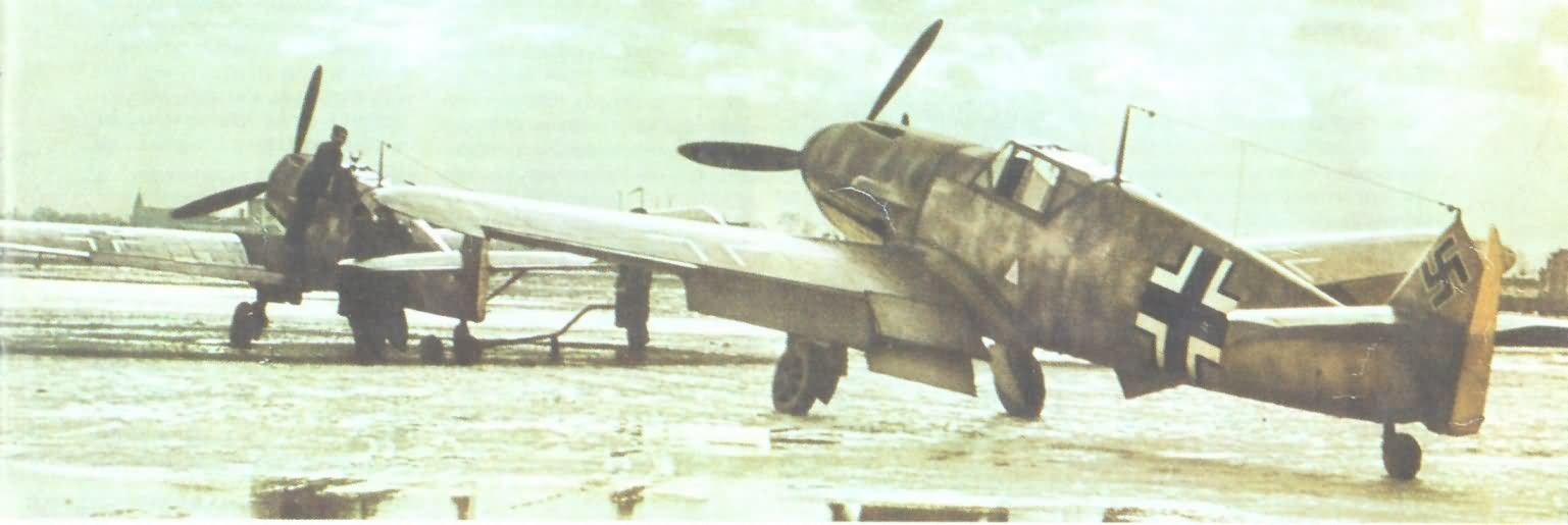 Messerschmitt bf 109 color 40