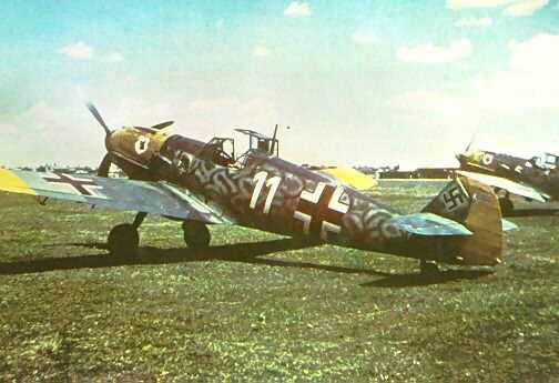 Messerschmitt bf 109 color 5