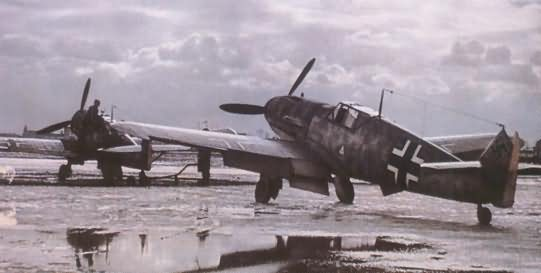 Messerschmitt bf 109 color 7