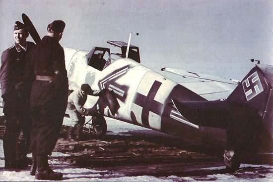 Messerschmitt bf 109 color 8