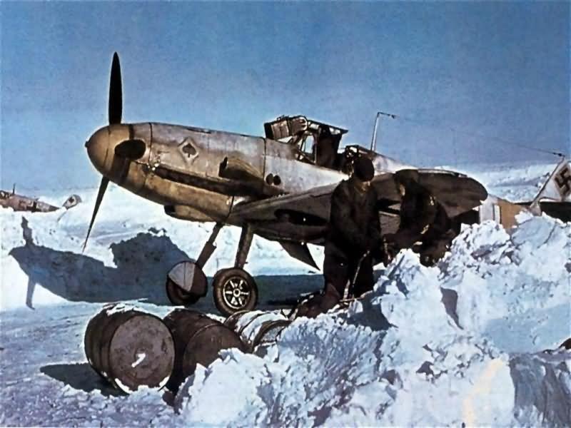 Messerschmitt Bf109 JG53 Pik As in Russia