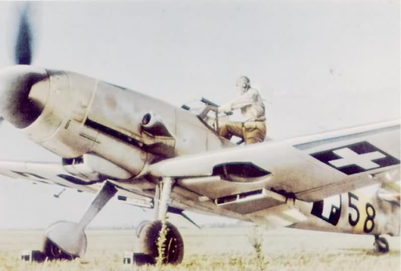 Messerschmitt Bf 109 color Hungary