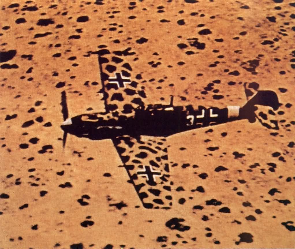 Messerschmitt Bf 109E/trop White 3 of the 1/JG27