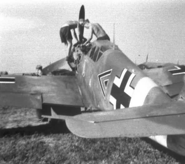 Messerschmitt me109f