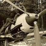 Me109 of the JG26 during maintenance