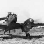 Messerschmitt Bf110 G fighter