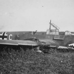 Messerschmitt Bf 110 code M8+CM of the 4/ZG 76