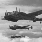 Messerschmitt Bf 110 ZG1 in flight