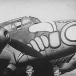 Messerschmitt Bf 110 ZG1 nose art